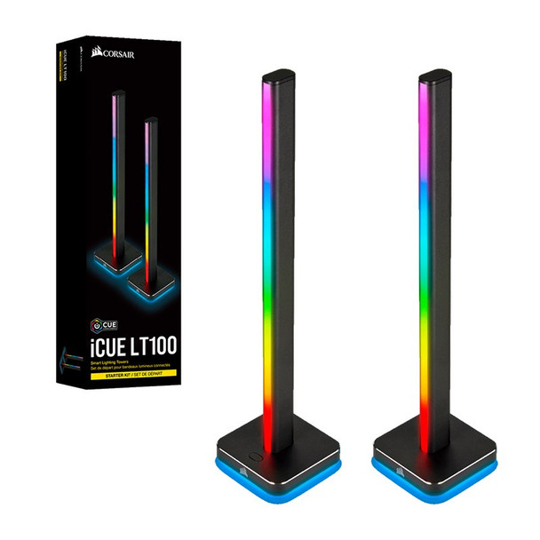 Corsair iCUE LT100 Smart Lighting Towers Starter Kit Product Image 2