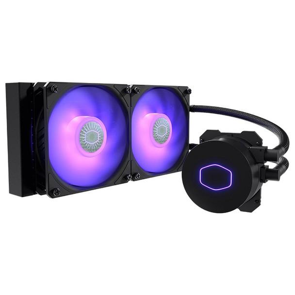 Image for Cooler Master MasterLiquid ML240L RGB V2 AIO Liquid CPU Cooler AusPCMarket