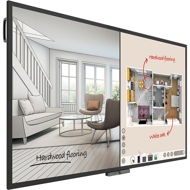 BenQ CP8601K 86in DuoBoard Corporate Interactive Flat Panel Product Image 3