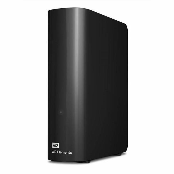 Western Digital WD Elements 12TB USB 3.0 Desktop External Hard Drive WDBBKG0120HBK-AESN Product Image 4