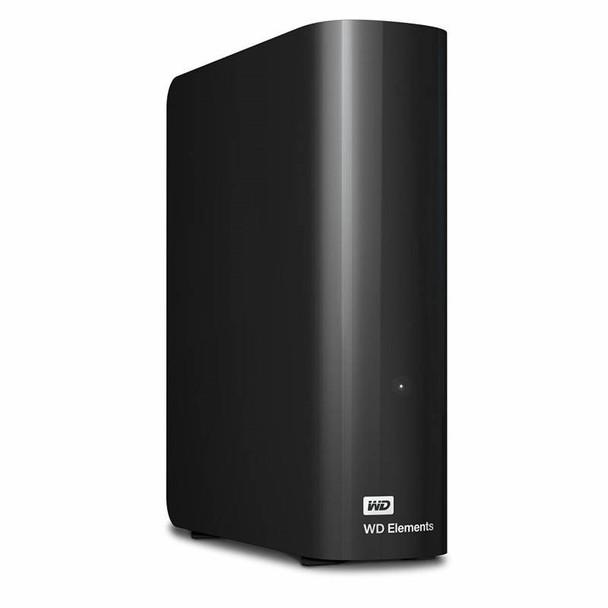 Western Digital WD Elements 12TB USB 3.0 Desktop External Hard Drive WDBBKG0120HBK-AESN Product Image 5