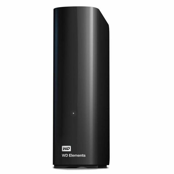 Western Digital WD Elements 12TB USB 3.0 Desktop External Hard Drive WDBBKG0120HBK-AESN Product Image 6