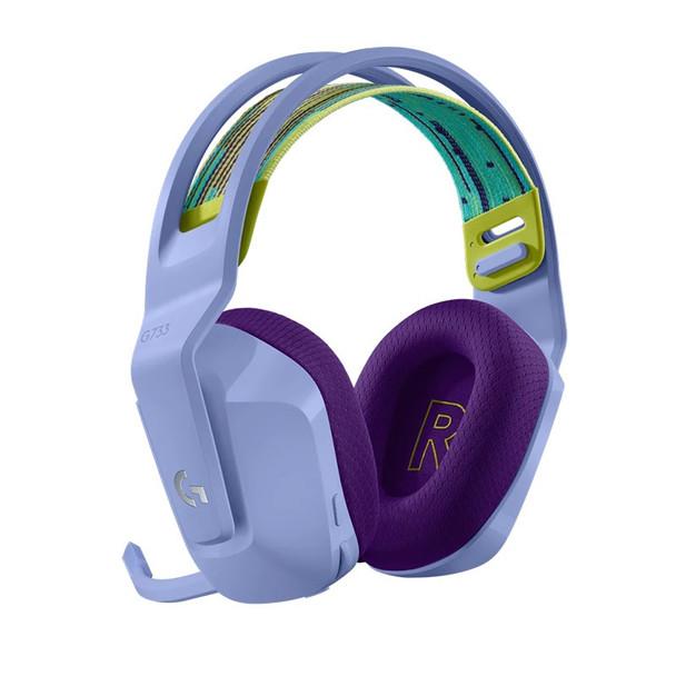 Logitech G733 LIGHTSPEED Wireless RGB Gaming Headset - Lilac Product Image 3