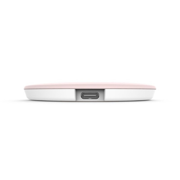 Asus Wireless Power Mate 15W Wireless Qi Charger - Pink Product Image 3