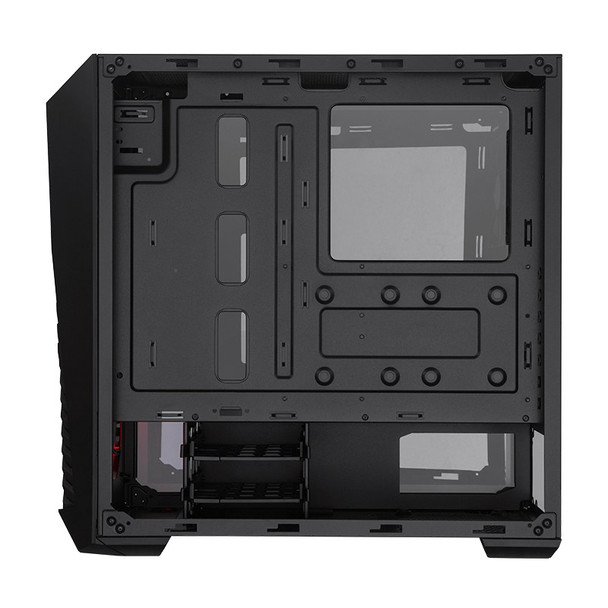 Cooler Master MasterBox K501L RGB Tempered Glass Mid-Tower ATX Case - Black Product Image 7