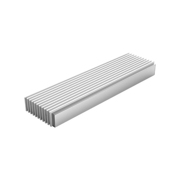 Orico M2PJ-C3 Aluminium M.2 NVMe SSD to USB-C Enclosure - Silver Product Image 3