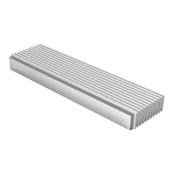 Orico M2PJ-C3 Aluminium M.2 NVMe SSD to USB-C Enclosure - Silver Product Image 4