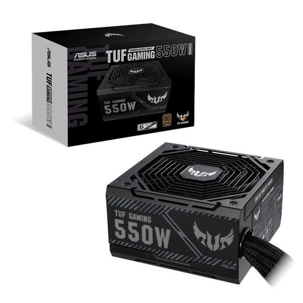 Asus TUF Gaming 550W 80+ Bronze Non Modular Power Supply Product Image 2