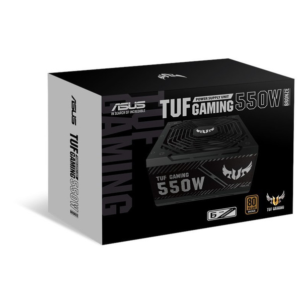 Asus TUF Gaming 550W 80+ Bronze Non Modular Power Supply Product Image 3