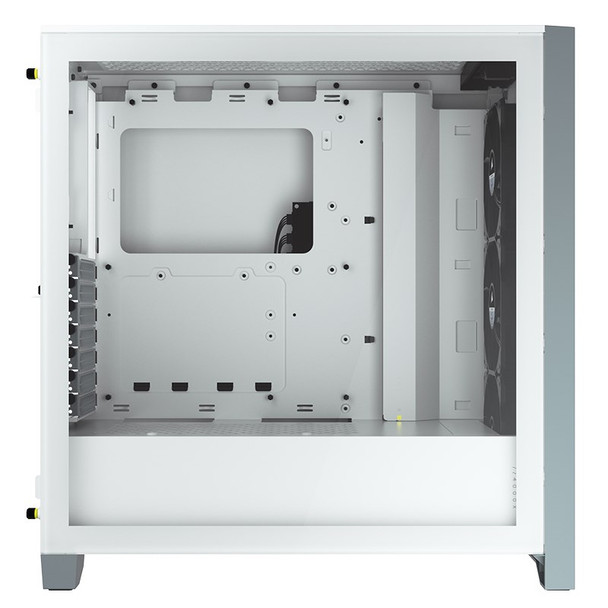 Corsair iCUE 4000X RGB Tempered Glass Mid-Tower ATX - White Product Image 6