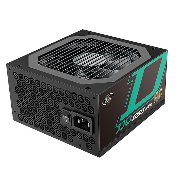 Image for Deepcool DQ650-M-V2L 650W 80 PLUS Gold Fully Modular Power Supply - Black AusPCMarket
