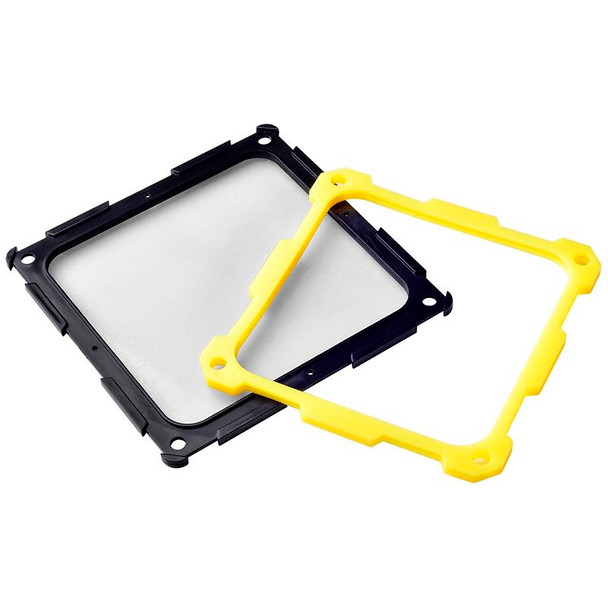 SilverStone FF124BY 120mm Fan Filter - Black/Yellow Product Image 3