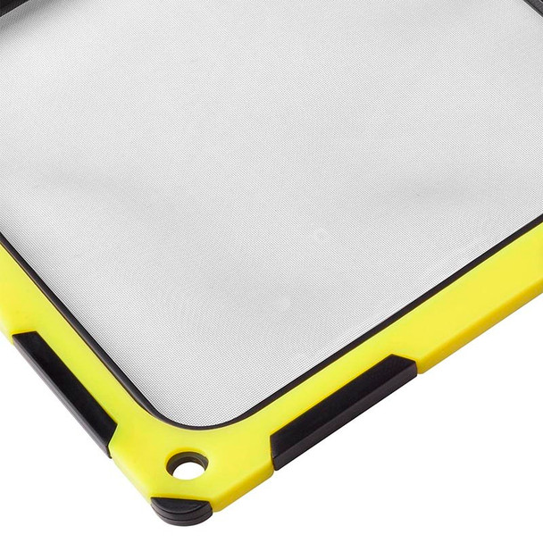 SilverStone FF124BY 120mm Fan Filter - Black/Yellow Product Image 5