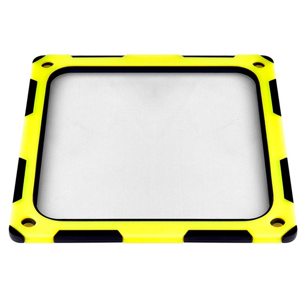 SilverStone FF124BY 120mm Fan Filter - Black/Yellow Product Image 6