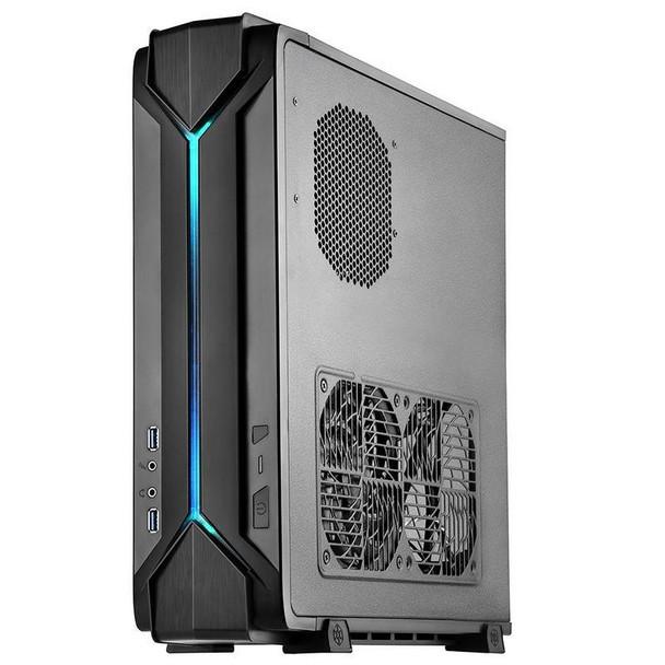 Image for SilverStone RAVEN RVZ03 Slimline Mini-ITX Case - Black AusPCMarket