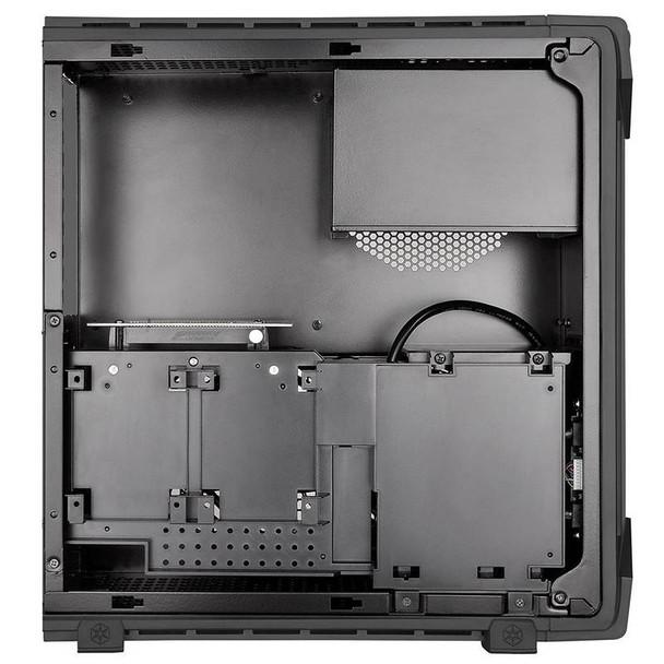 SilverStone RAVEN RVZ03 Slimline Mini-ITX Case - Black Product Image 3