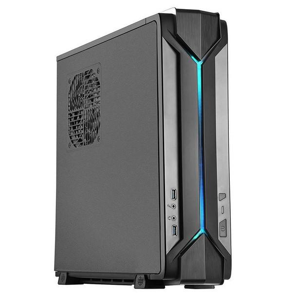 SilverStone RAVEN RVZ03 Slimline Mini-ITX Case - Black Product Image 6