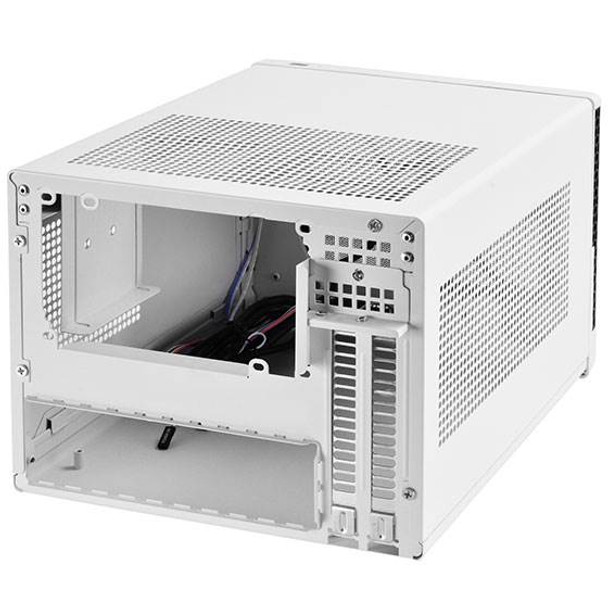 SilverStone Sugo Series SG13WB Small Form Factor Mesh Front Case - White/Black Product Image 2