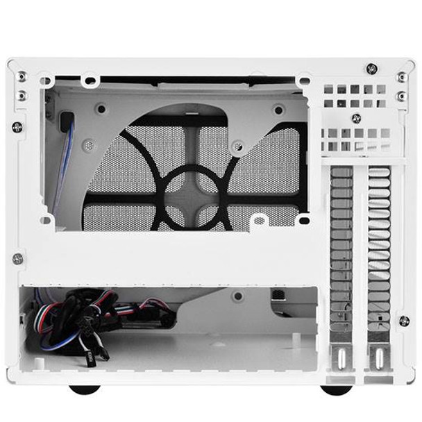 SilverStone Sugo Series SG13WB Small Form Factor Mesh Front Case - White/Black Product Image 3