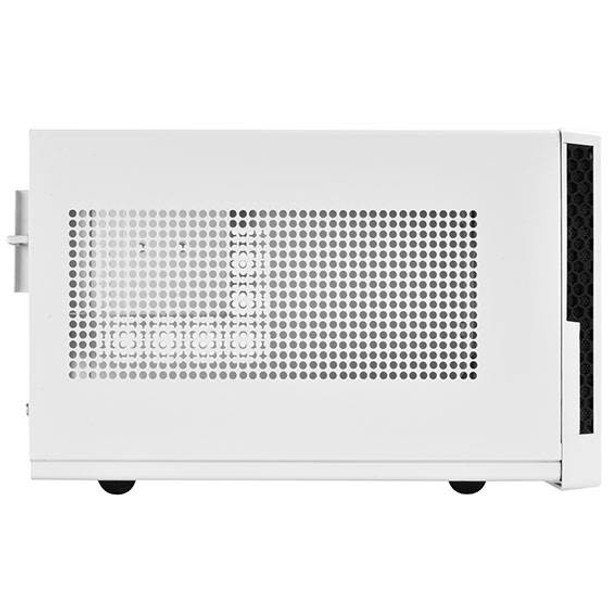 SilverStone Sugo Series SG13WB Small Form Factor Mesh Front Case - White/Black Product Image 5