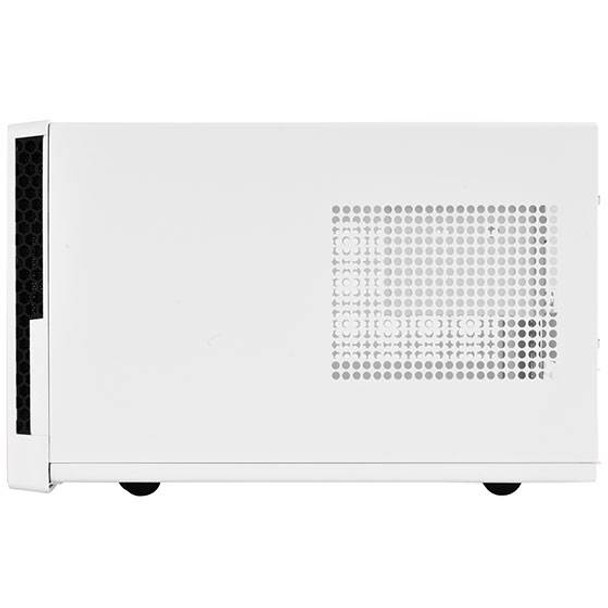SilverStone Sugo Series SG13WB Small Form Factor Mesh Front Case - White/Black Product Image 6