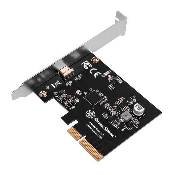 Image for SilverStone ECU06 USB-C Gen 3.2 2x2 PCIe Expansion Card AusPCMarket