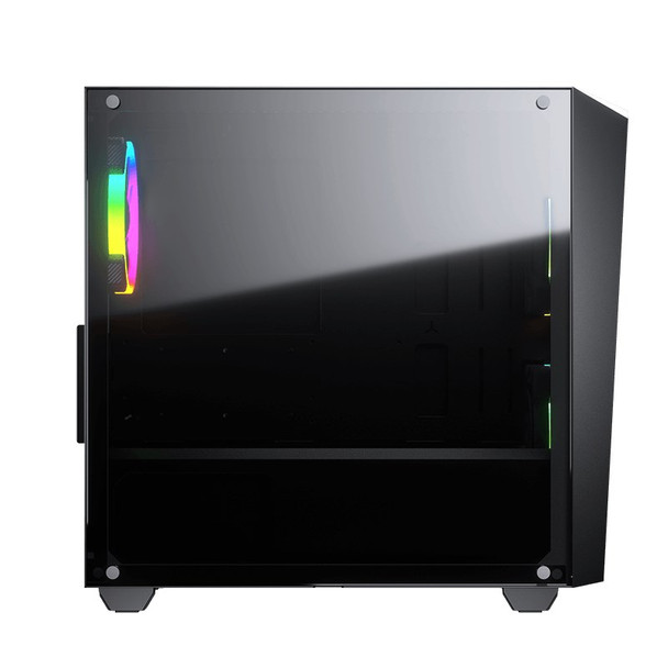 Cougar MG120-G RGB Tempered Glass Micro-ATX Mini Tower Case - Black Product Image 5
