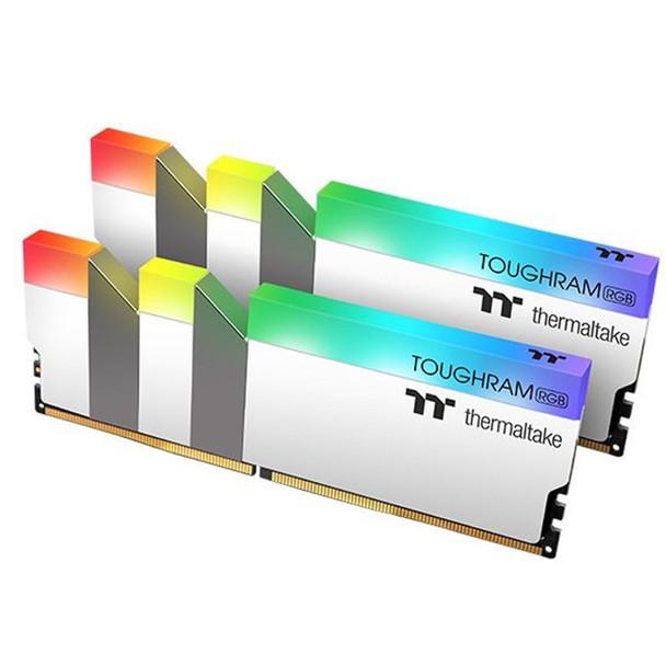 Image for Thermaltake TOUGHRAM RGB 32GB (2x 16GB) DDR4 3600MHz CL18 Memory - White AusPCMarket