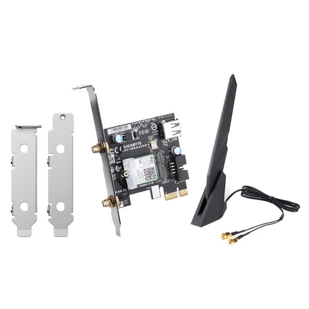 Image for QNAP QXP-W6-AX200 Dual Band Wi-Fi 6 PCIe Network Card for NAS and PC AusPCMarket