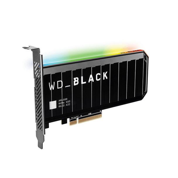 Image for Western Digital WD Black AN1500 WDS200T1X0L 2TB RGB NVMe PCIe Gen3 x8 SSD Add-In-Card AusPCMarket