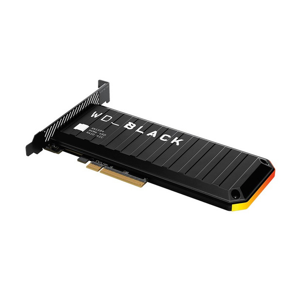 Western Digital WD Black AN1500 WDS200T1X0L 2TB RGB NVMe PCIe Gen3 x8 SSD Add-In-Card Product Image 2