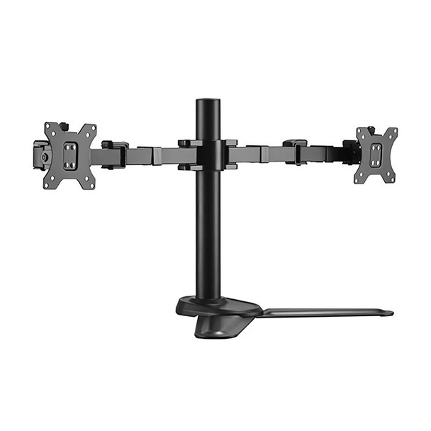 Image for Brateck LDT33-T024 Dual Monitors Affordable Steel Articulating Monitor Stand AusPCMarket
