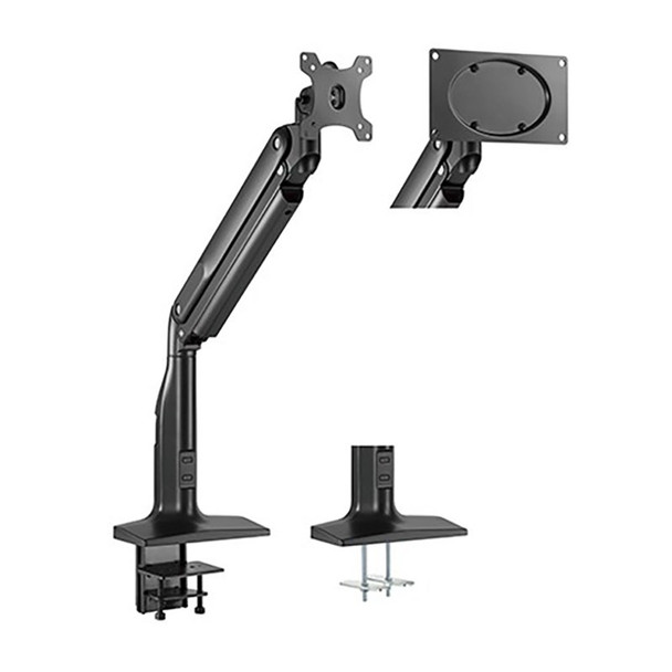 Image for Brateck Single Select Gas Spring Monitor Arm - 17in-43in AusPCMarket