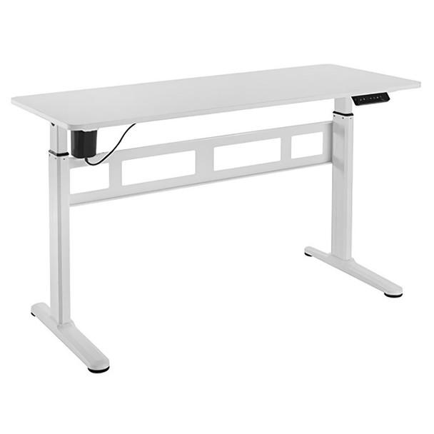 Image for Brateck S04-22D Single-Motor Height Adjustable Desk - White AusPCMarket