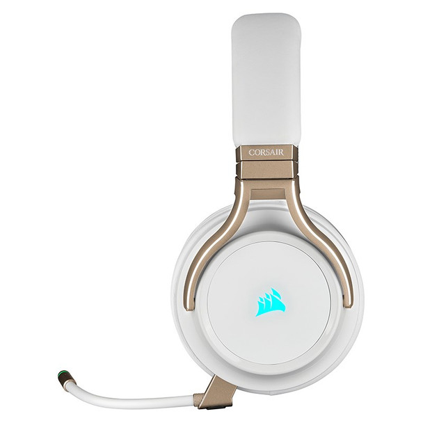 Corsair Virtuoso RGB Virtual 7.1 Wireless Gaming Headset - Pearl Product Image 2