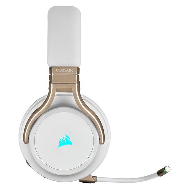 Corsair Virtuoso RGB Virtual 7.1 Wireless Gaming Headset - Pearl Product Image 3