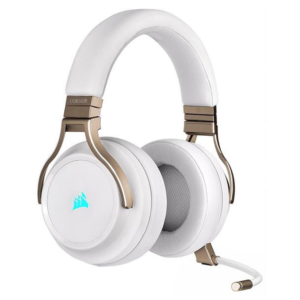 Corsair Virtuoso RGB Virtual 7.1 Wireless Gaming Headset - Pearl Product Image 5