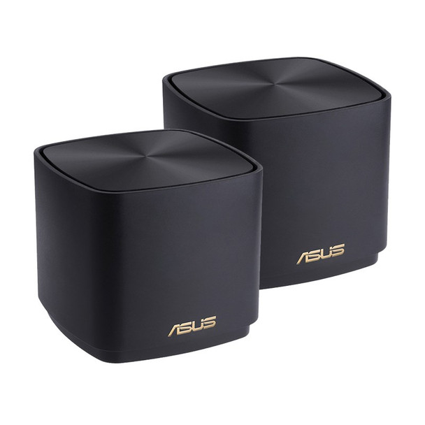 Image for Asus ZenWiFi AX Mini XD4 Dual Band WiFi 6 Gigabit System - 2 Pack (Black) AusPCMarket