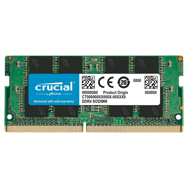 Image for Crucial 16GB (1x 16GB) DDR4 2666MHz Notebook Memory AusPCMarket