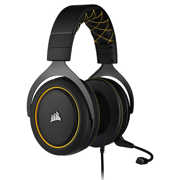Corsair HS60 Pro Surround Gaming Headset - Yellow Product Image 3