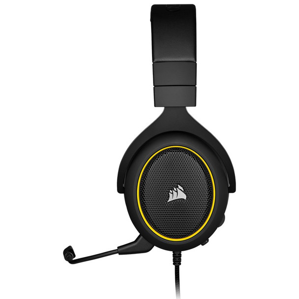 Corsair HS60 Pro Surround Gaming Headset - Yellow Product Image 7