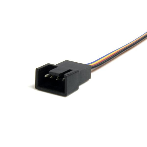 StarTech 12in 4 Pin Fan Power Extension Cable Product Image 2