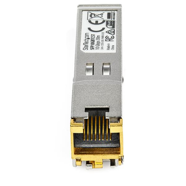 StarTech Cisco Compatible SFP+ Transceiver Module - 10GBASE-T Product Image 3