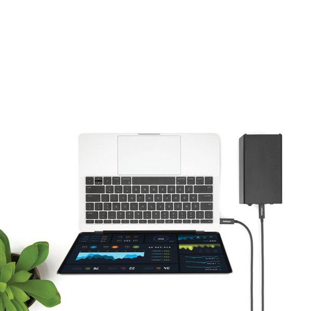 StarTech 1m Thunderbolt 3 USB C Cable - 40Gbps - Thunderbolt and USB Product Image 4