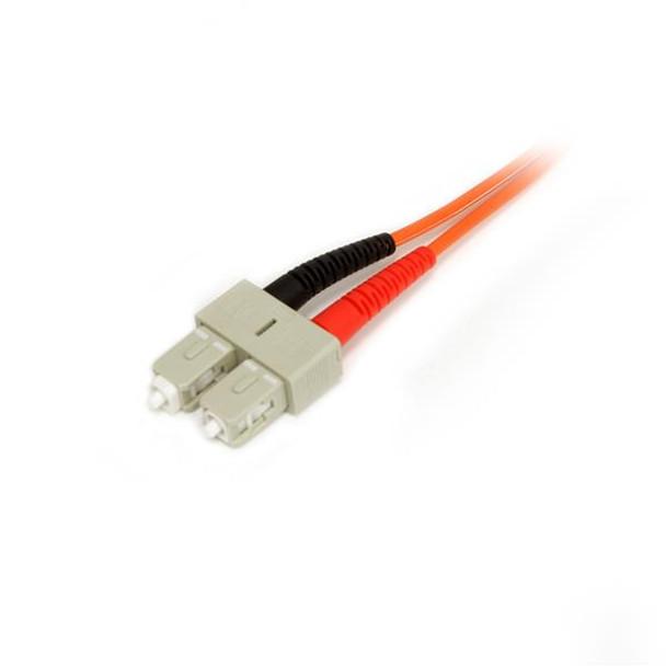 StarTech 10m Multimode 50/125 Duplex Fiber Patch Cable LC - SC Product Image 3