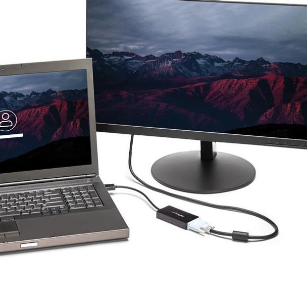 StarTech DisplayPort to VGA/DVI/HDMI Adapter  DP Converter  Black Product Image 5