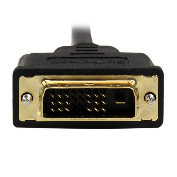 StarTech 1m Mini HDMI Male to DVI-D Male Cable - 1920x1200 Product Image 5