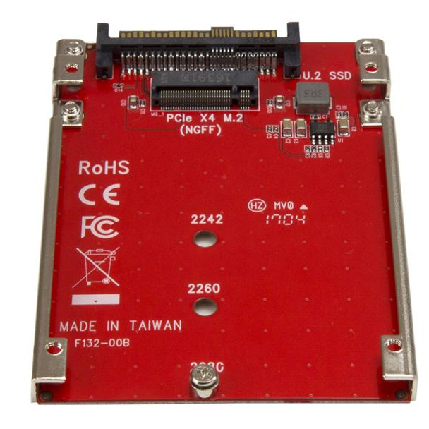 StarTech M.2 to U.2 (SFF-8639) Adapter for M.2 PCIe NVMe SSDs Product Image 3