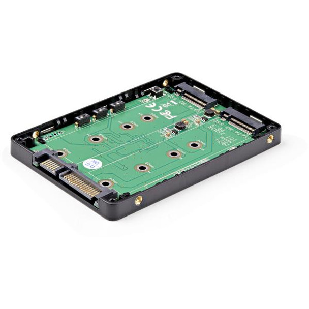 StarTech 2x M.2 SSD to 2.5in SATA Adapter with RAID and TRIM Support Product Image 4