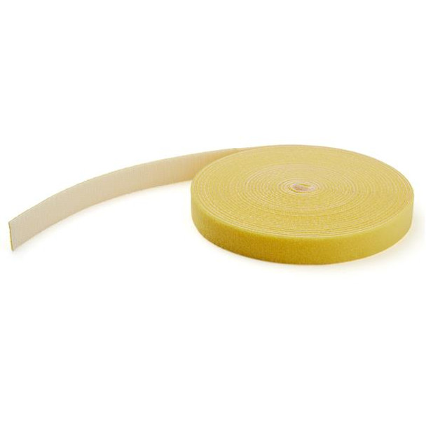 Image for StarTech 25ft. Hook and Loop Roll - Yellow - Reusable AusPCMarket